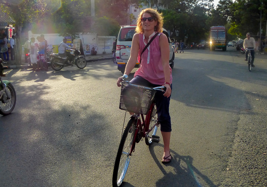 Vélo Beatriz Aebischer Créatrice de Voyage