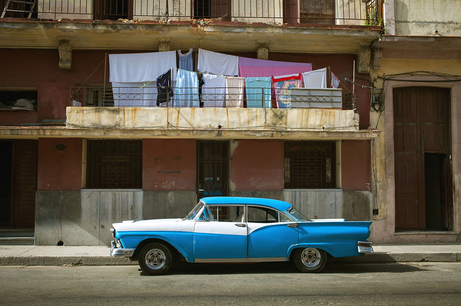 Voiture Cuba Beatriz Aebischer
