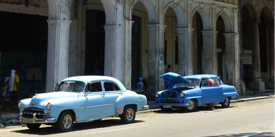 Voitures cubaines Beatriz Aebischer